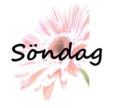 söndag
